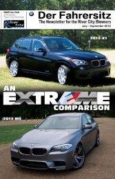 Jul-Sep 2012 - BMW Car Club of America