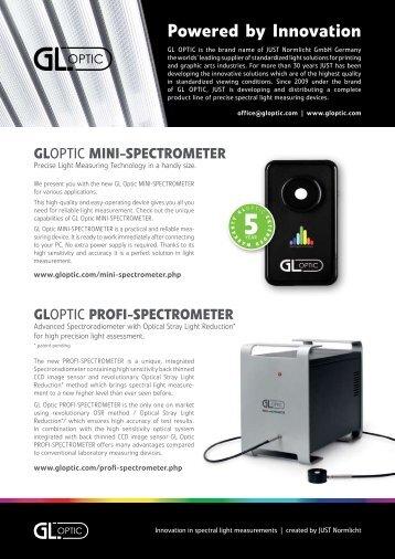 GLOptic PROFI-SPECTROMETER - Trioptics