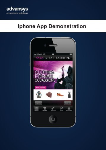 Iphone App Demonstration