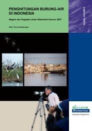 penghitungan burung-air di indonesia - Wetlands International ...