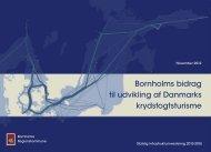 Bornholms bidrag til udvikling af Danmarks krydstogtsturisme