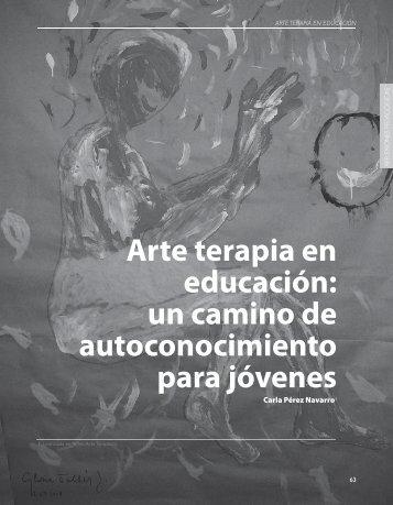 Arte terapia en educación: un camino de ... - Revista Docencia