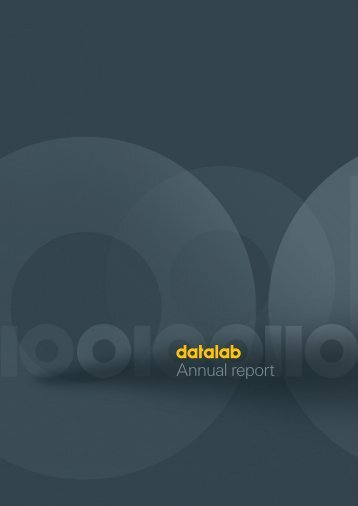 Annual Report 2010 - Index of - Datalab