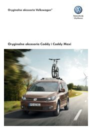 Oryginalne akcesoria Caddy i Caddy Maxi - besmarex.pl
