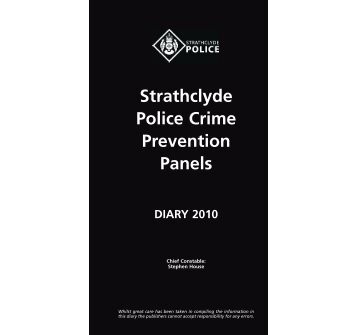 Strathclyde Police Crime Prevention Panels