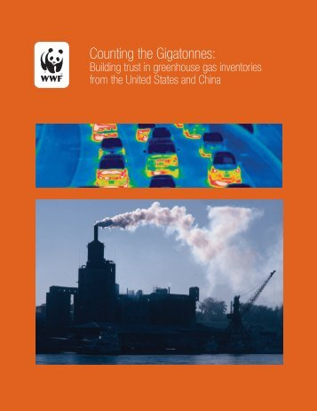 Building trust in greenhouse gas inventories from the United ... - WWF