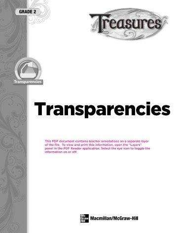 B! - Treasures - Macmillan/McGraw-Hill