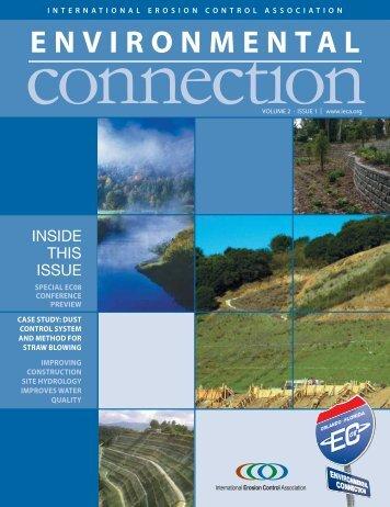 ENVIRONMENTAL - International Erosion Control Association