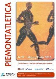 piemontatletica aprile 2010 - Fidal Piemonte