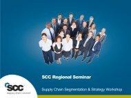 2013 Executive Seminar Q1 Base - Supply Chain Council