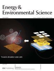 Energy& Environmental Science - Jiaxing Huang - Northwestern ...