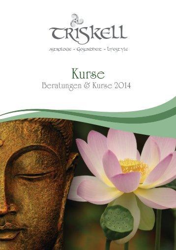 Kursprogramm 2014 - Triskell