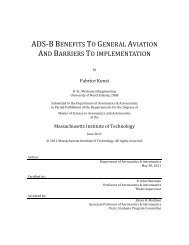 ADS-B Benefits to General Aviation and Barriers to Implementation