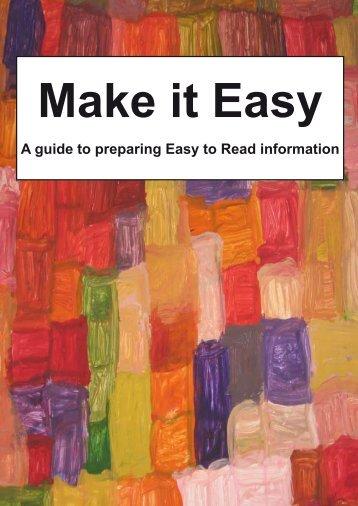 Make it easy - Irish Association of Speech & Language Therapists