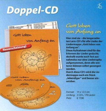 Werbung für die CD
