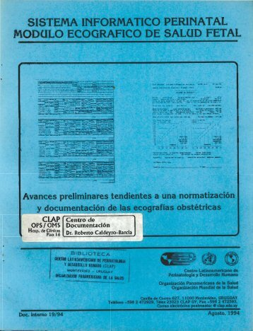 Doc. Interno 1994-19 - CLAP