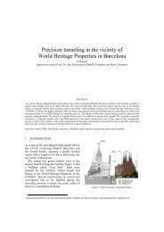 Precision tunneling in the vicinity of World Heritage ... - Kivi Niria