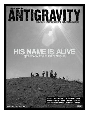 May 2006 (PDF) - Antigravity Magazine