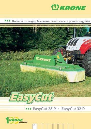 EasyCut 28 P · EasyCut 32 P - Dobrowolski - Maszyny Rolnicze