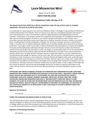 Parental Consent Form - ABYC