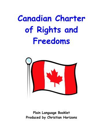pdf canadian charter of rights and freedoms