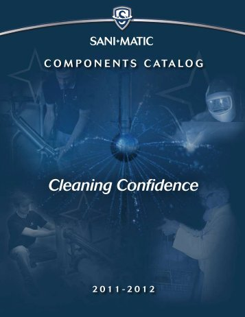 2011 - 2012 Components Catalog - Sani-Matic