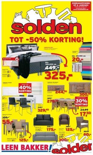 TOT -50% KORTING! - Leenbakker