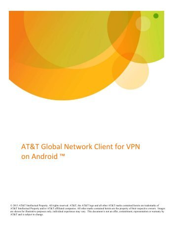 AT&T Global Network Client for VPN on Android™