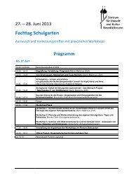 programm - Zentrum für Umwelt und Kultur Benediktbeuern