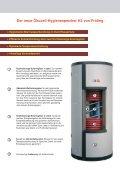 Der neue Ökocell-Hygienespeicher H3 von ... - Fröling Heizkessel - Seite 2