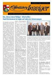 "Büro ""Aktives Zentrum Püttlingen"" offiziell eröffnet - Harald Klyk ..."