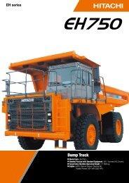 EH750-3 - Hitachi Construction Machinery
