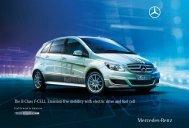 Mercedes-Benz B-Class F-CELL Brochure