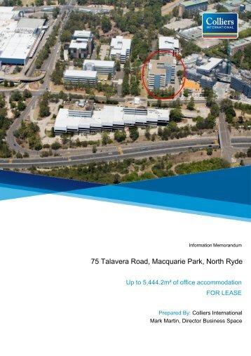75 Talavera Road, Macquarie Park, North Ryde - YouVu