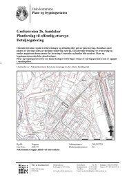 Grefsenveien 26, Sandaker Planforslag til offentlig ettersyn ...