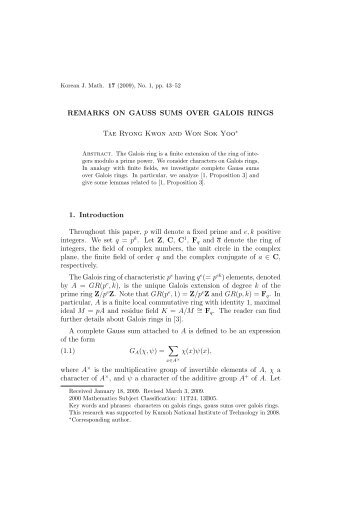 Sum And Product Tables For Galois Fields