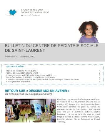 Bulletin CPS Saint-Laurent automne 2012 - CSSS de Bordeaux ...