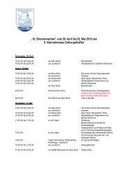 """""""16. Stromerwachen"""" vom 29. April bis 02. Mai 2010 und 6 ..."""