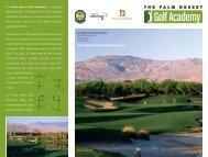 Golf Academy Brochure 2 - Cybergolf