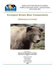 European Brown Bear Compendium.pdf - Medvede SK