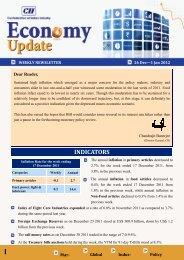 Economy Updated 26 Dec-1 2011 Jan 2012 - CII