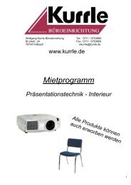 Mietprogramm (PDF) - Kurrle
