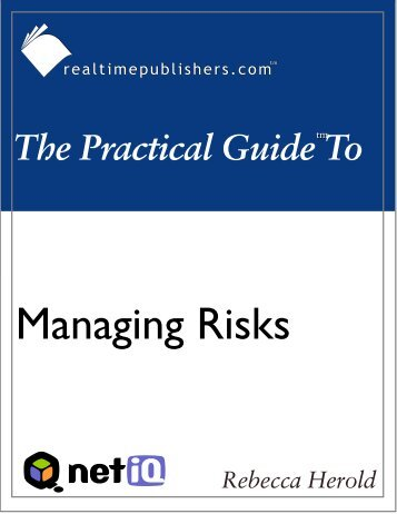 The Practical Guide to Managing Risk - Computer Troubleshooters ...