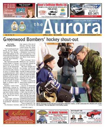 Apr 8 2013 - The Aurora Newspaper