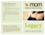 Download MOM's Legacy Society brochure - Middleton Outreach ...