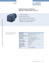 Cable Plug according to DIN EN 175301-803, Form A