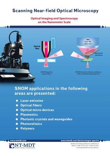 Scanning Near-field Optical Microscopy - NT-MDT