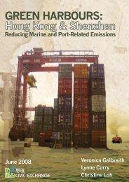 Green Harbours: Hong Kong and Shenzhen - Reducing Marine