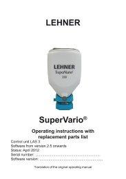 LEHNER SuperVario® Yellow mustard - Lehner Agrar GmbH