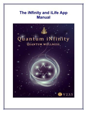 User manual - Quantum Life app